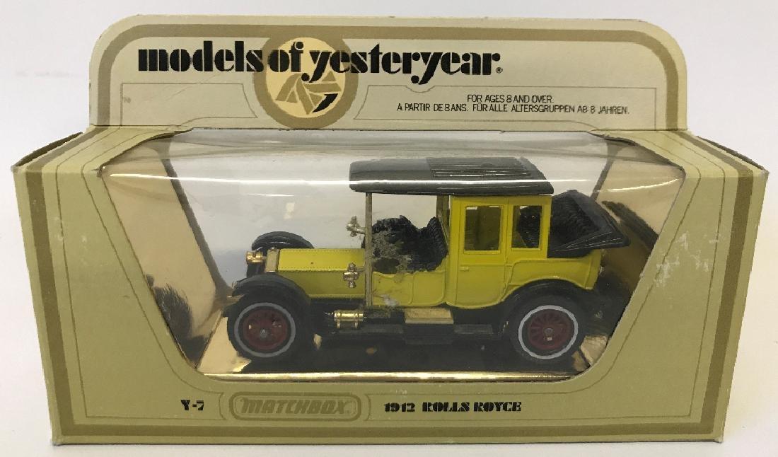 Vintage MATCHBOX LESNEY Models of Yesteryear 1912 Y7