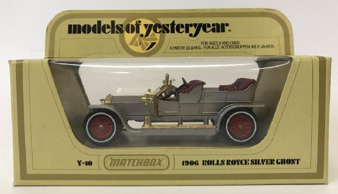 Vintage MATCHBOX LESNEY Models of Yesteryear Y10 1906