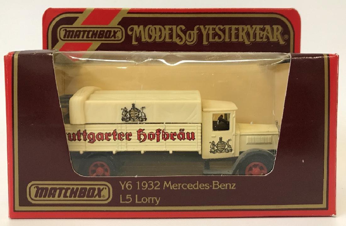 MATCHBOX LESNEY Models of Yesteryear Y-6 1932 Mercedes