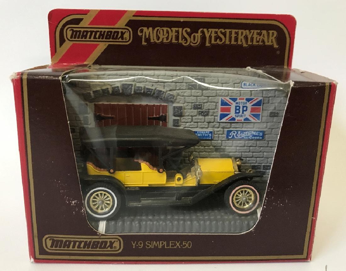Vintage MATCHBOX LESNEY Models of Yesteryear Y9 1912