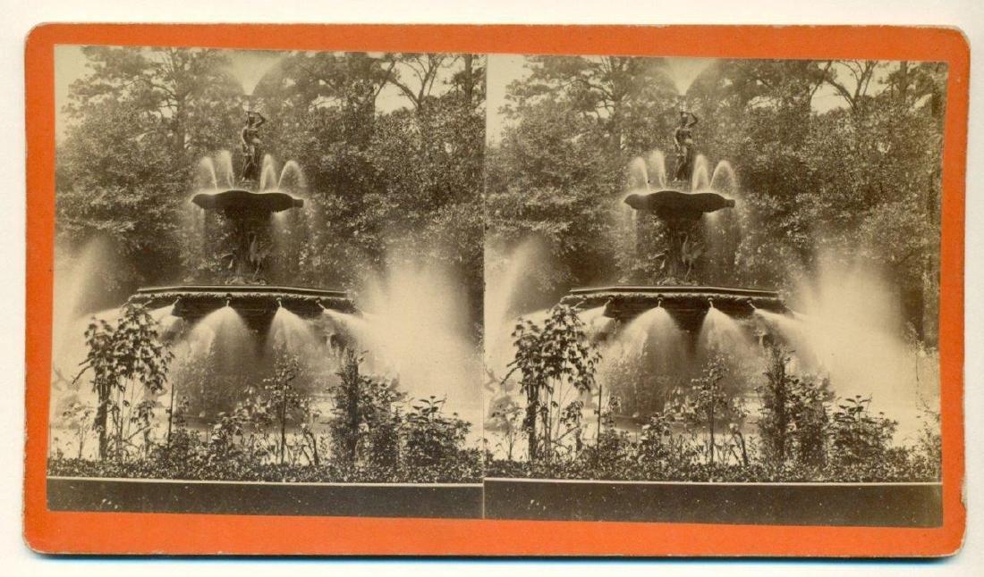 1880 Savannah Georgia Ga Forsyth Park Fountain - 2