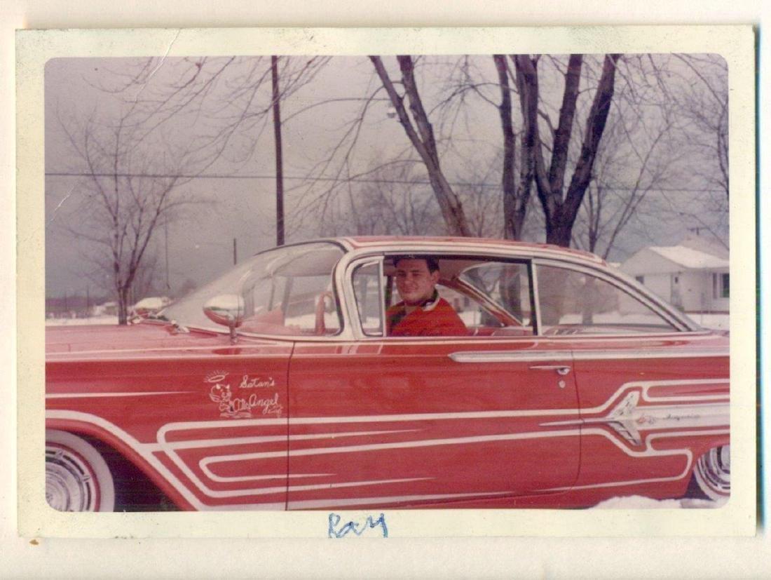 1960 Vintage Snapshot Chevrolet Chevy Impala