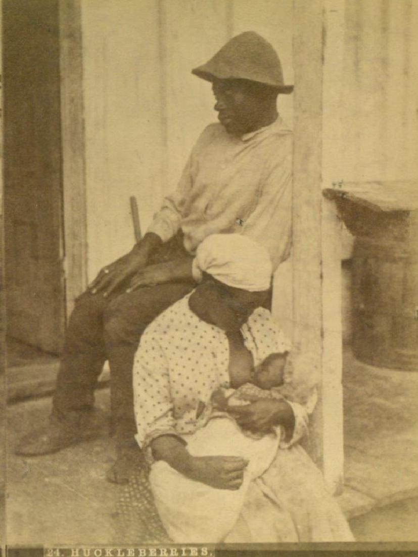 1880 African American Mother Breast Feeds Infant