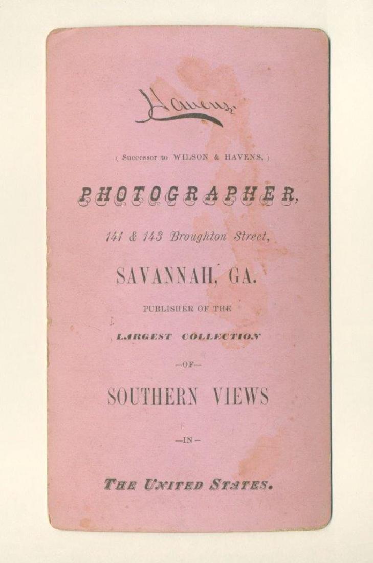1880 Savannah African American Woman Man Pulls Plow - 3