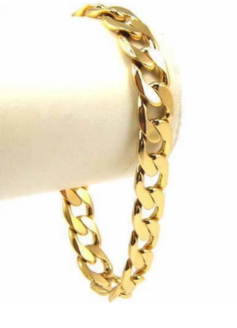 14K Gold Filed Cuban Bracelet