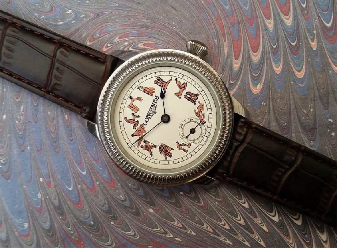 Vintage Longines Customized Kamasutra Dial Watch - 2