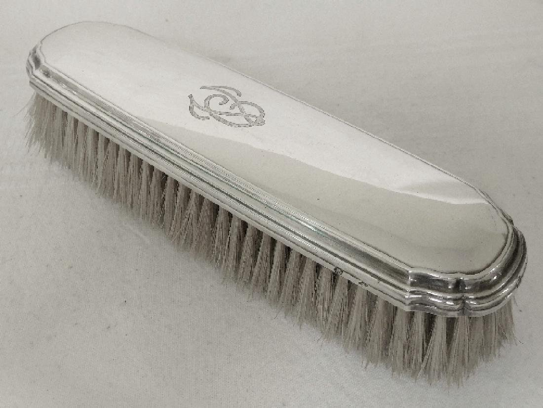 Antique French Tetard Freres Sterling Silver Brush