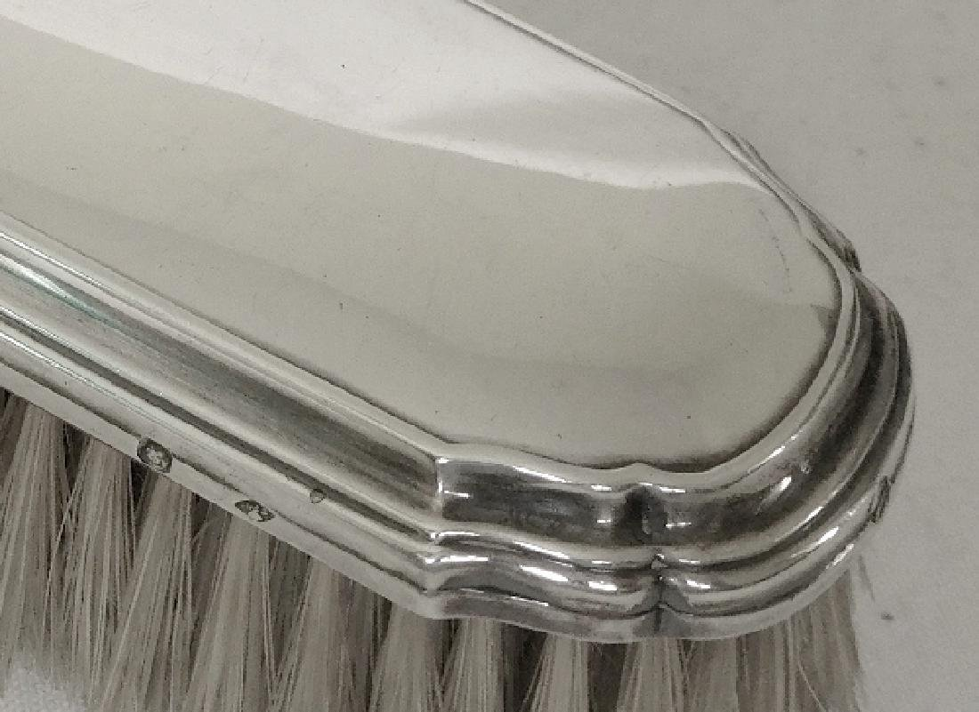 Antique French Tetard Freres Sterling Silver Brush - 2