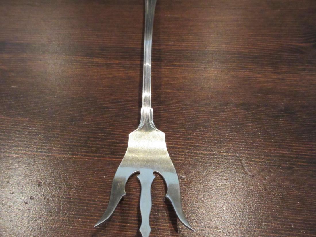 Vintage International Trident Sterling Silver Fork - 2