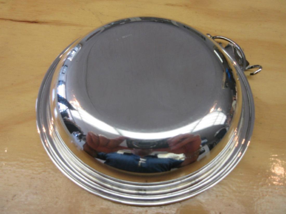 Danish Modernist Art Deco 830 Silver Bowl Candy Dish - 5