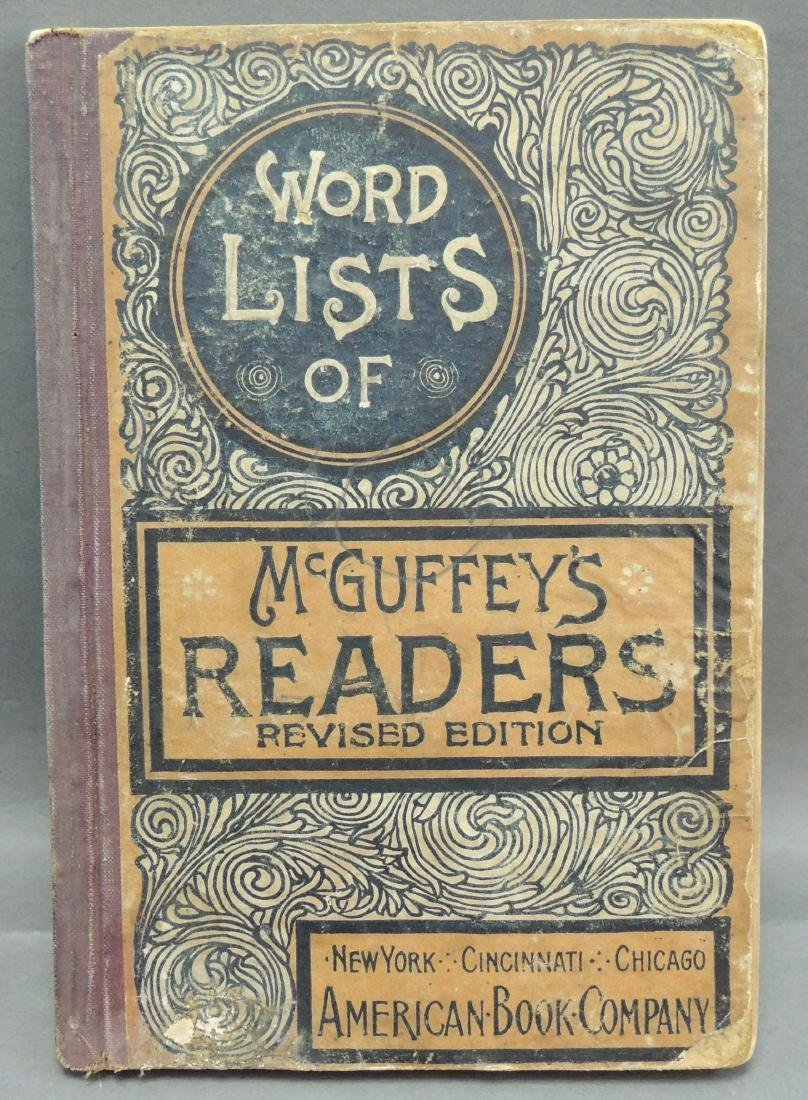 Word Lists of McGuffey's Readers Revised Edition