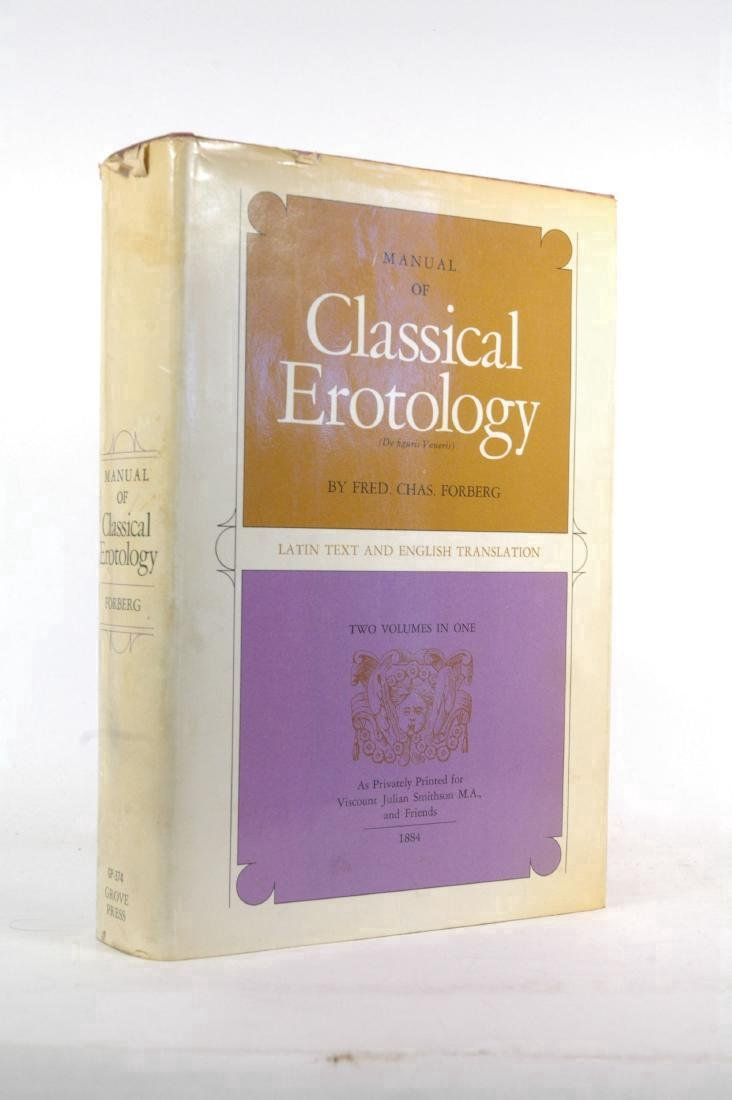 Manual of Classical Erotology: Latin Text English