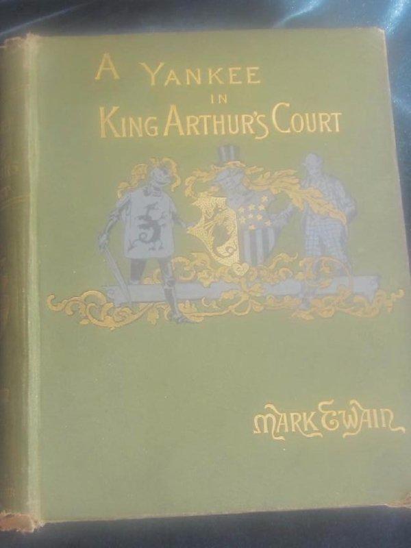 A Yankee in King Arthur's Court. Mark Twain