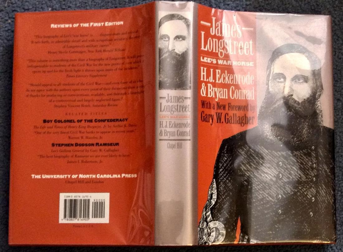 Collectible Hardcover Civil War Military History Bio