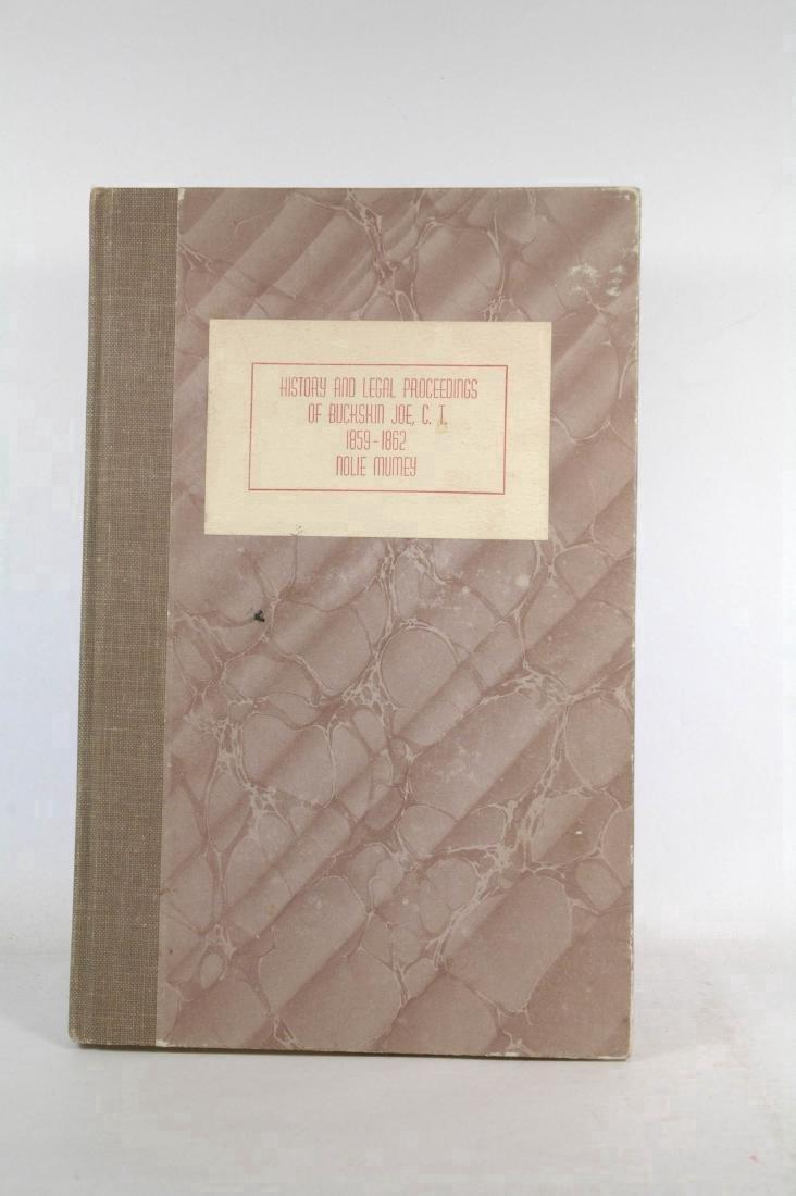 History and Legal Proceedings of Buckskin Joe