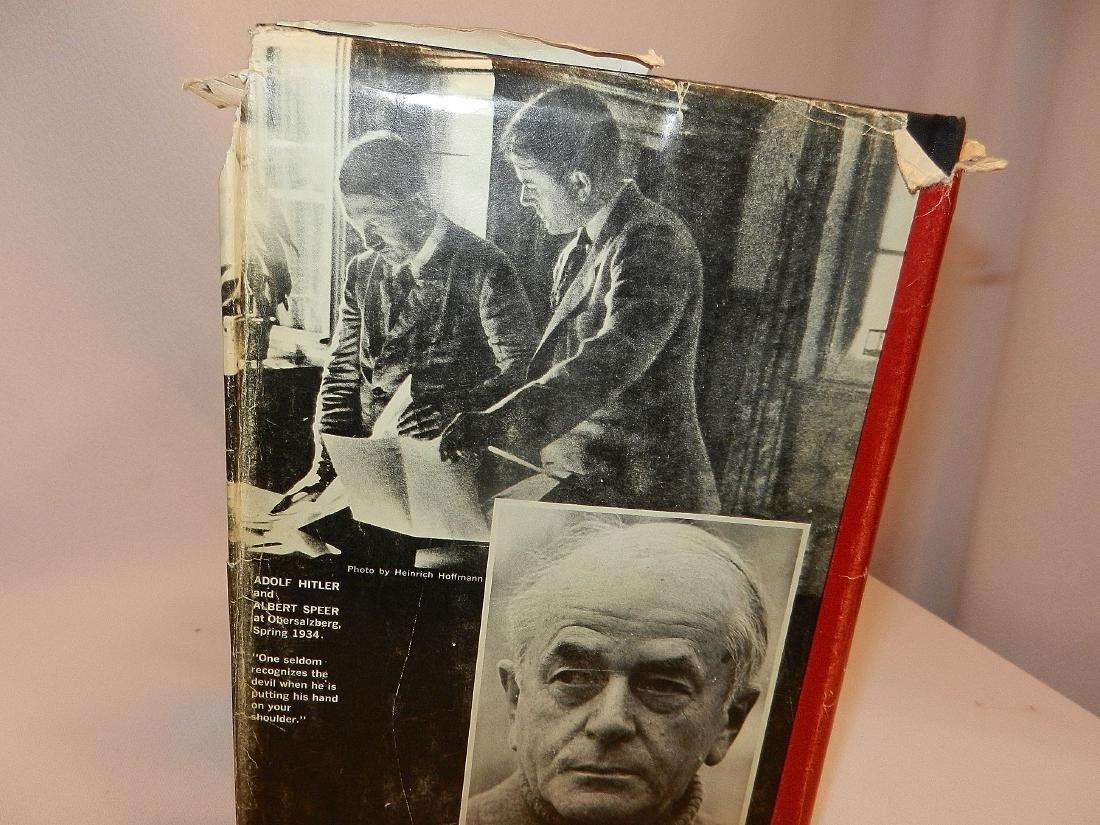 Inside Third Reich Memoirs Albert Speer First Printing - 3