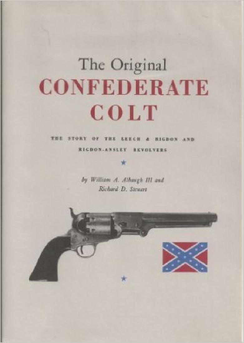 Original Confederate Colt Civil War Hardcover Reference