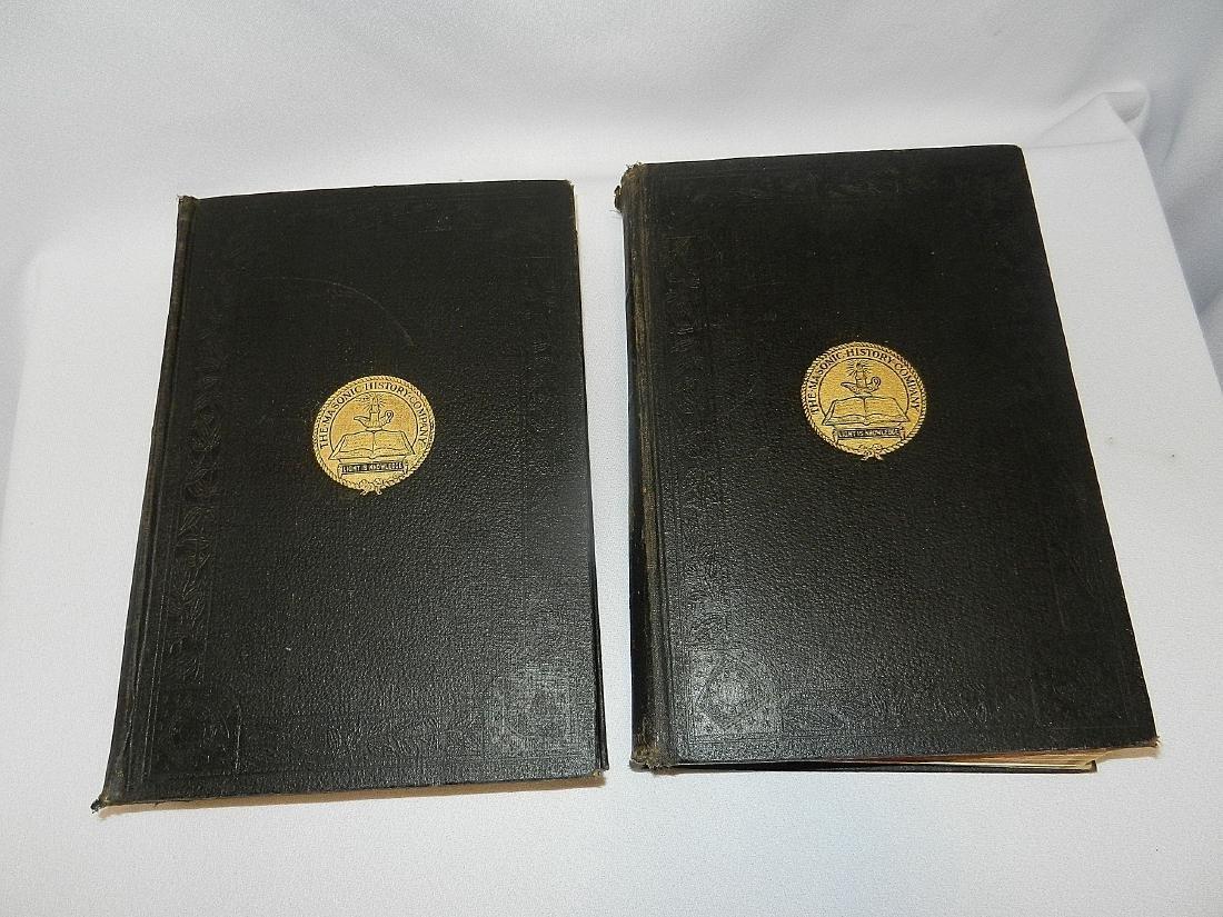 Antique Encyclopedia of Freemasonry Volumes 1 & 2 1918 - 3