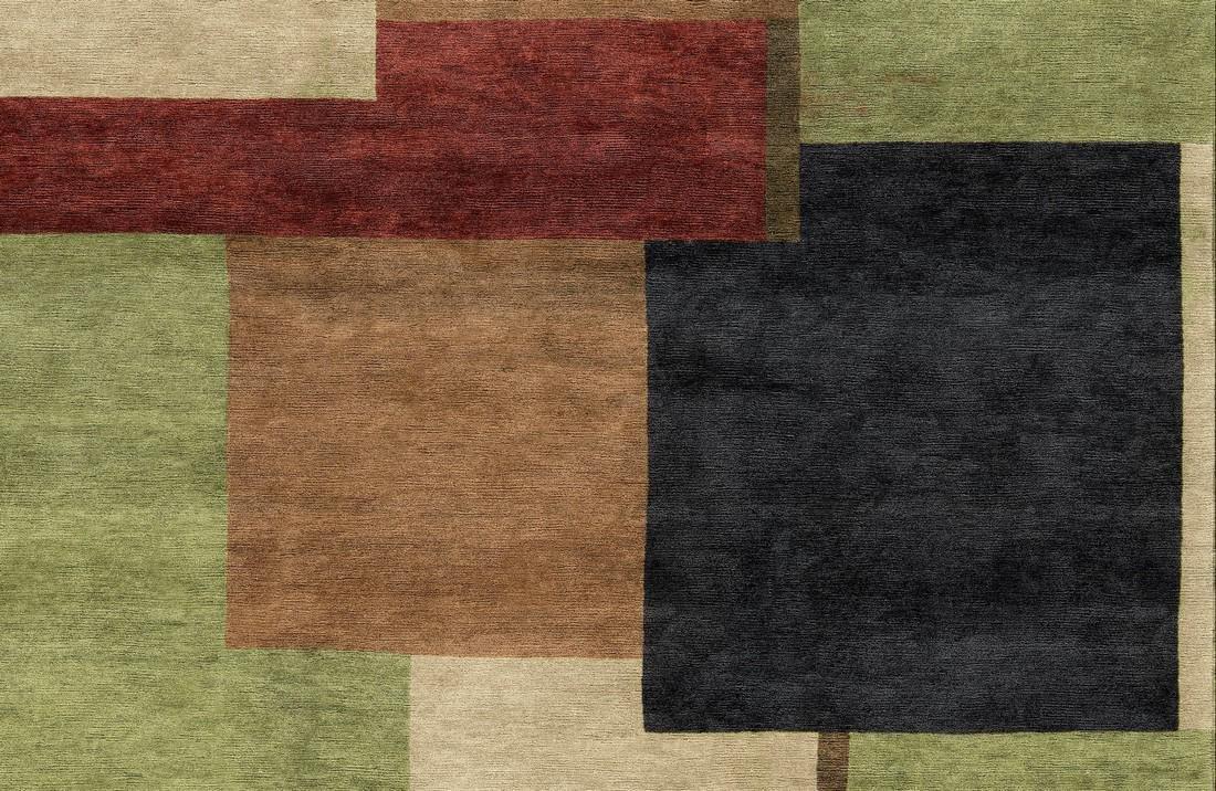 """Modern Handmade Rug 9'6"""" x 12'3"""" - 2"""