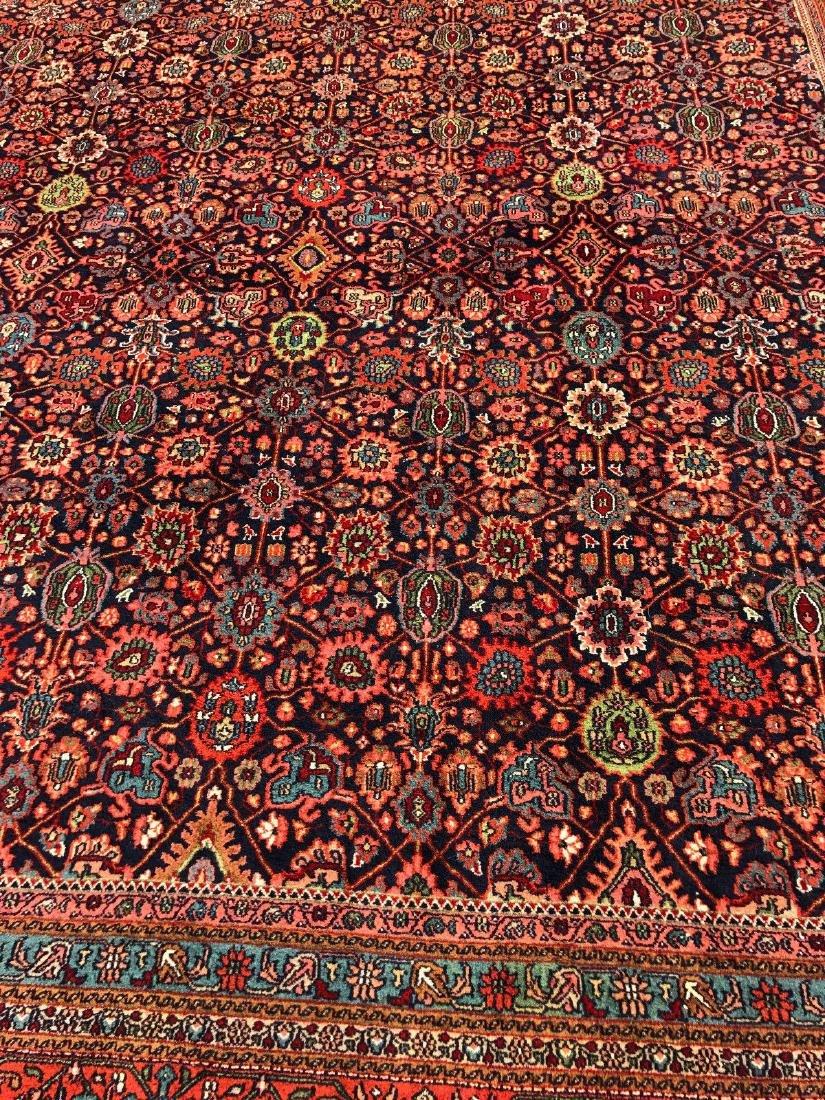 "Persian Meighoon Sarouk Rug 11'8""x17'9"" - 3"