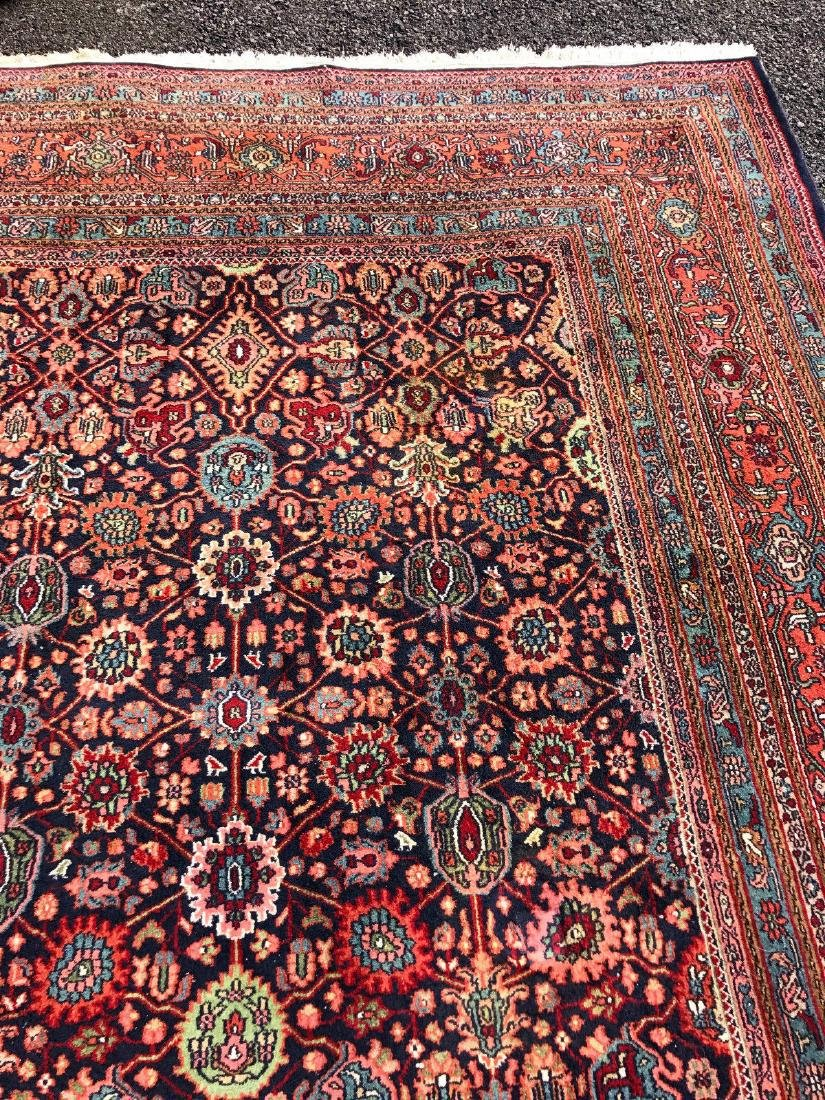 "Persian Meighoon Sarouk Rug 11'8""x17'9"" - 6"