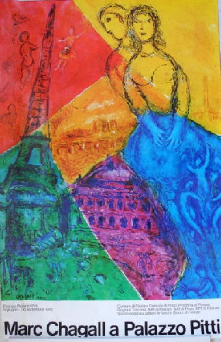 Marc Chagall, After Poster Palazzo Pitti
