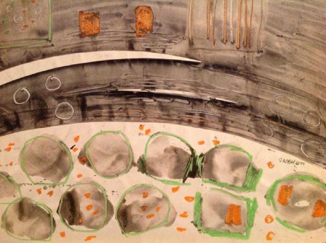 Charles Gassner Mixed Media Painting - 2