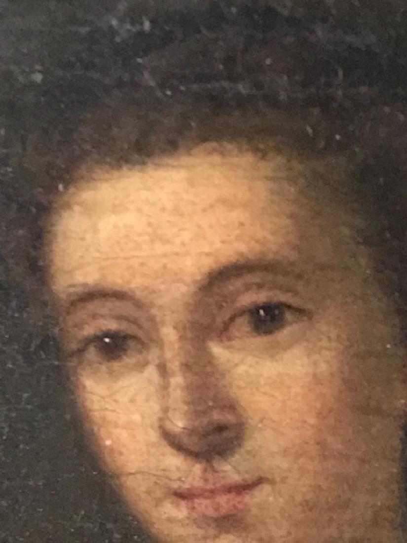 English 19th C Oil Painting Portrait - 2