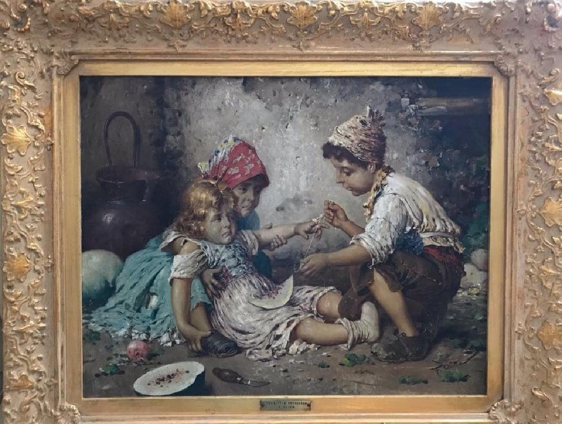 Federico Oliva Oil Painting Little Physicians