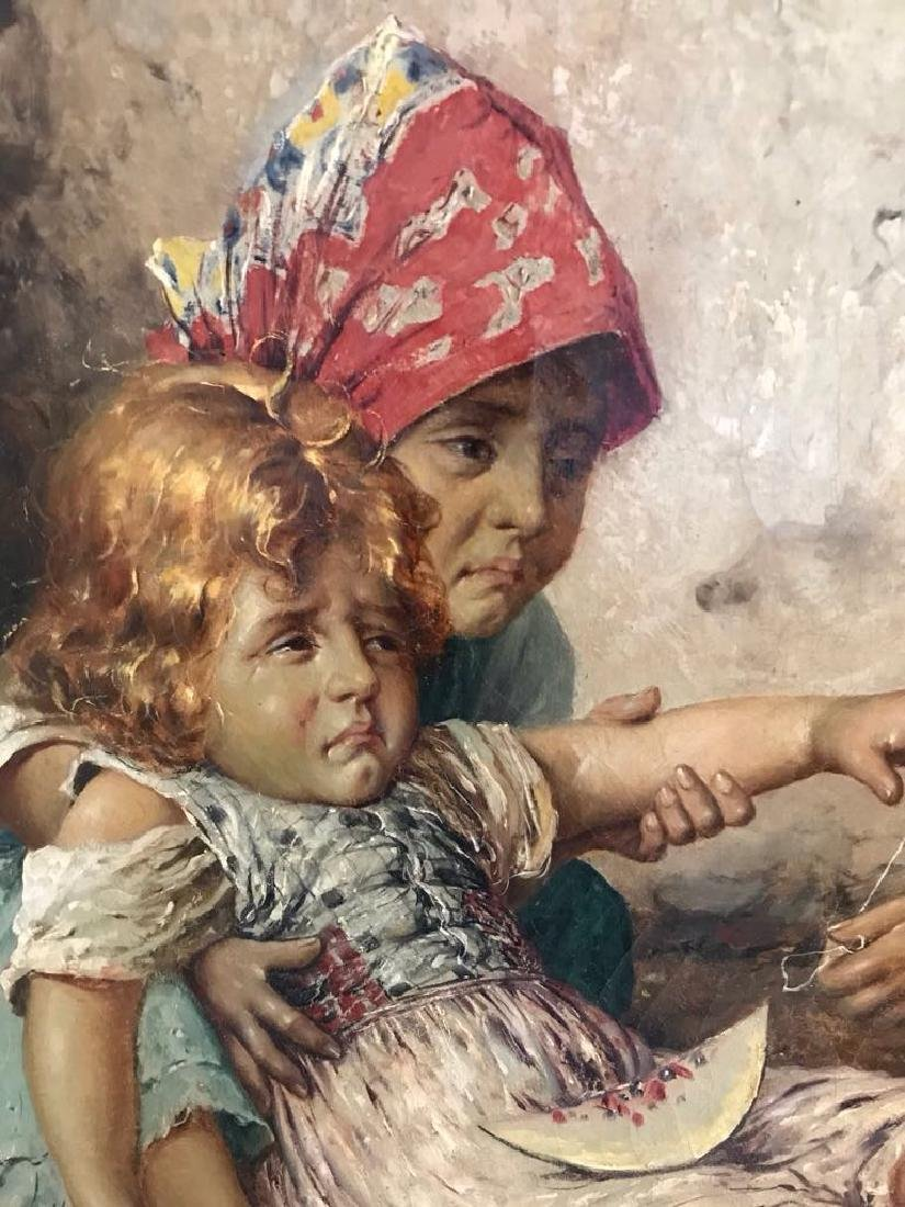 Federico Oliva Oil Painting Little Physicians - 7
