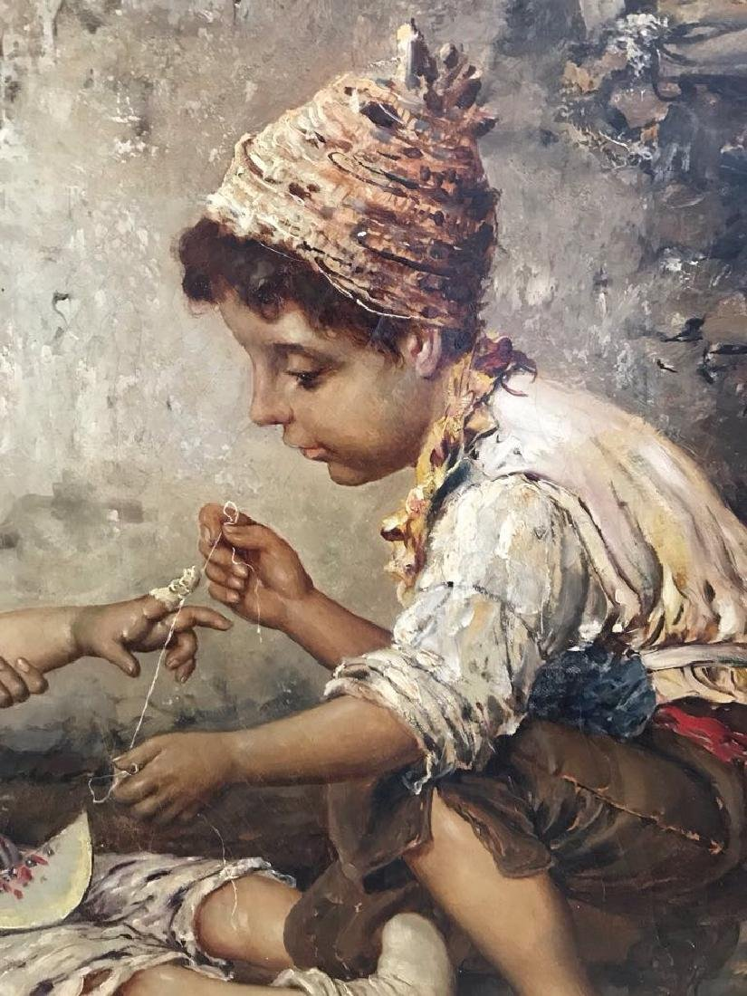 Federico Oliva Oil Painting Little Physicians - 8