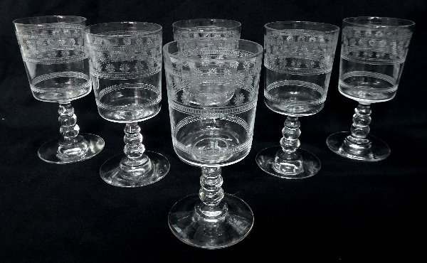 6 Port Glasses Baccarat Crystal Glass