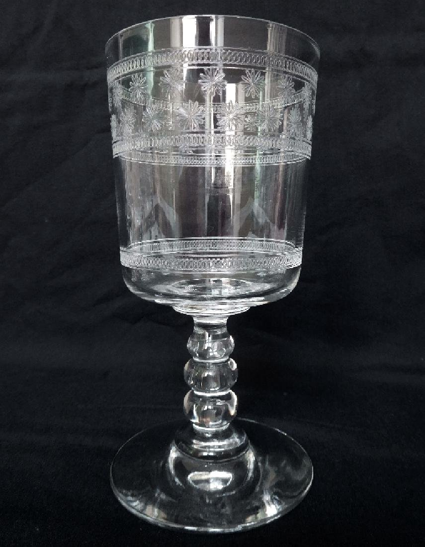 6 Port Glasses Baccarat Crystal Glass - 2