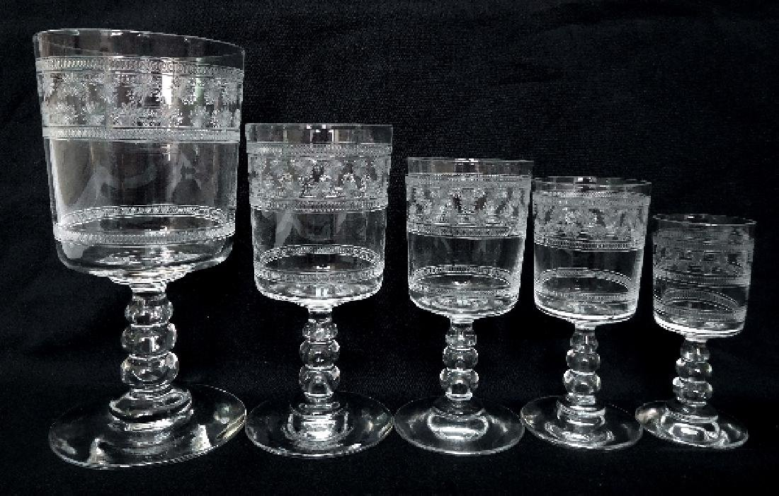 6 Port Glasses Baccarat Crystal Glass - 6