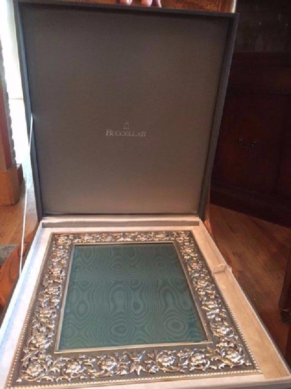 Buccellati Medicea Picture Frame in Box - 3