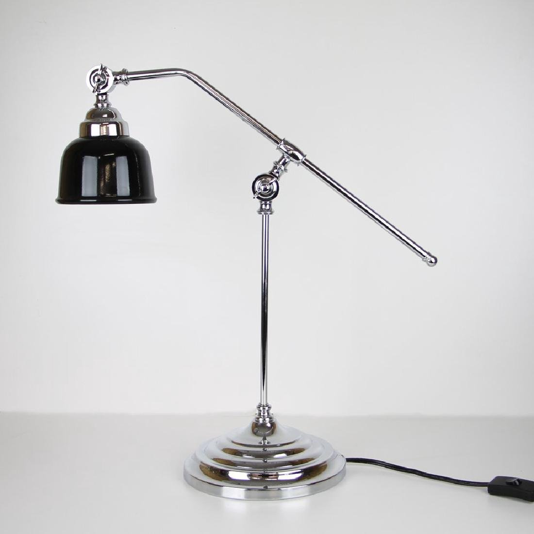 Modern Chrome Table Lamp