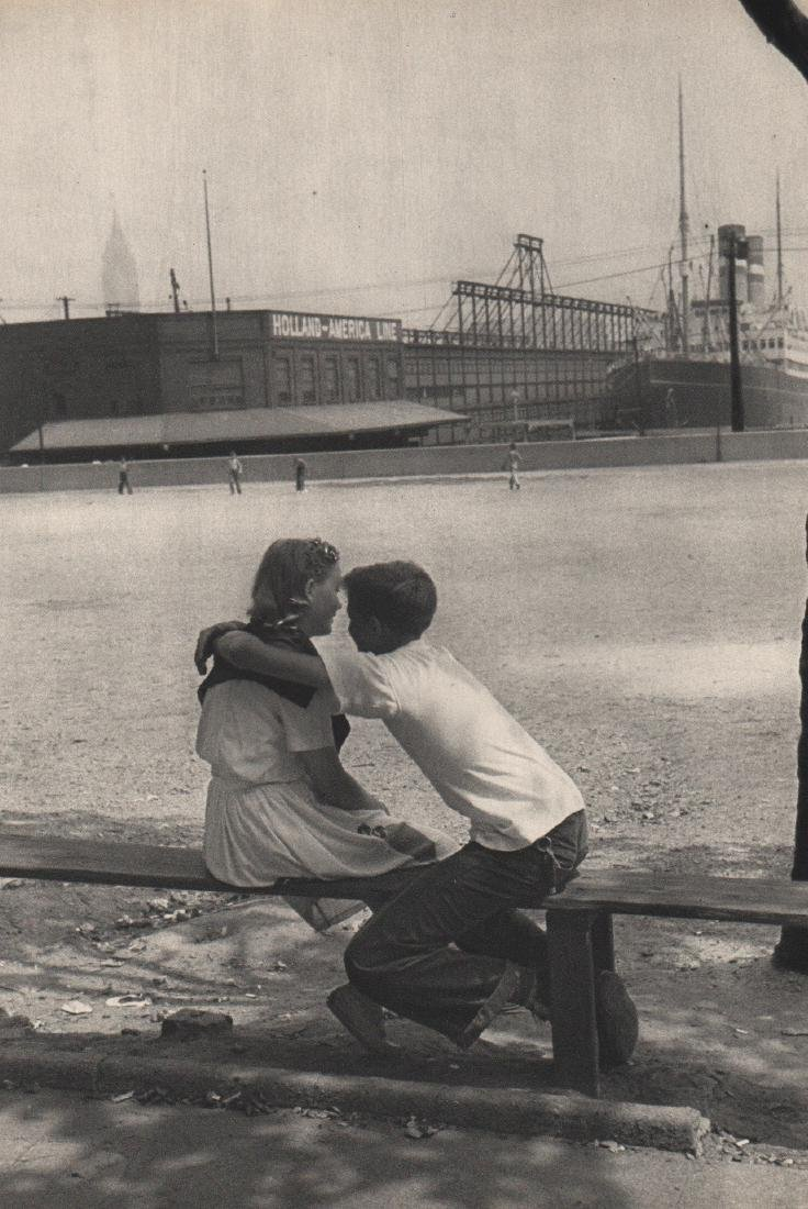 CARTIER-BRESSON - Hoboken NJ, 1947