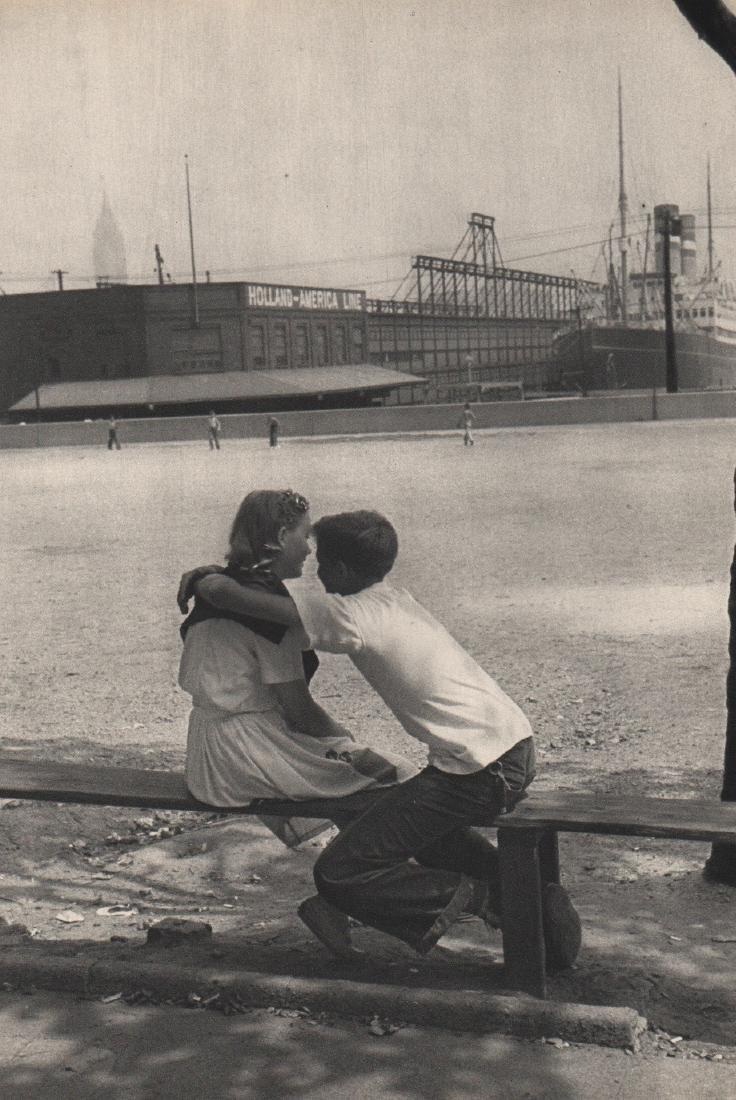 CARTIER-BRESSON - Hoboken NJ, 1947