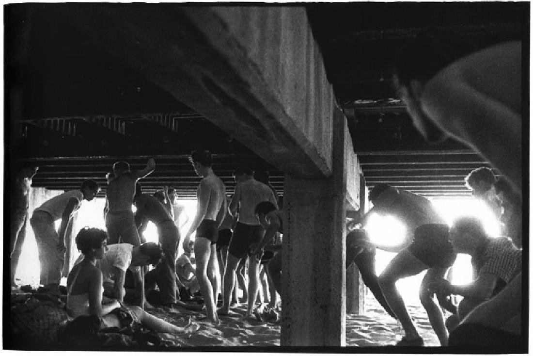 BRUCE DAVIDSON - The Jokers, Under the Boardwalk, 1959