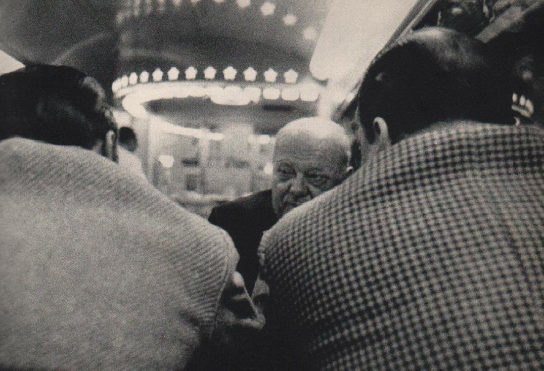 ROBERT FRANK - Club Car, New York to Washington