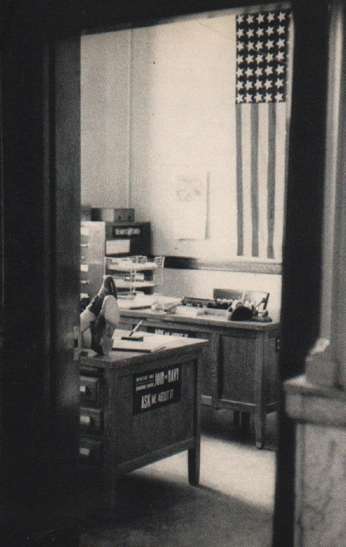 ROBERT FRANK - Navy Recruiting Station, Post Office