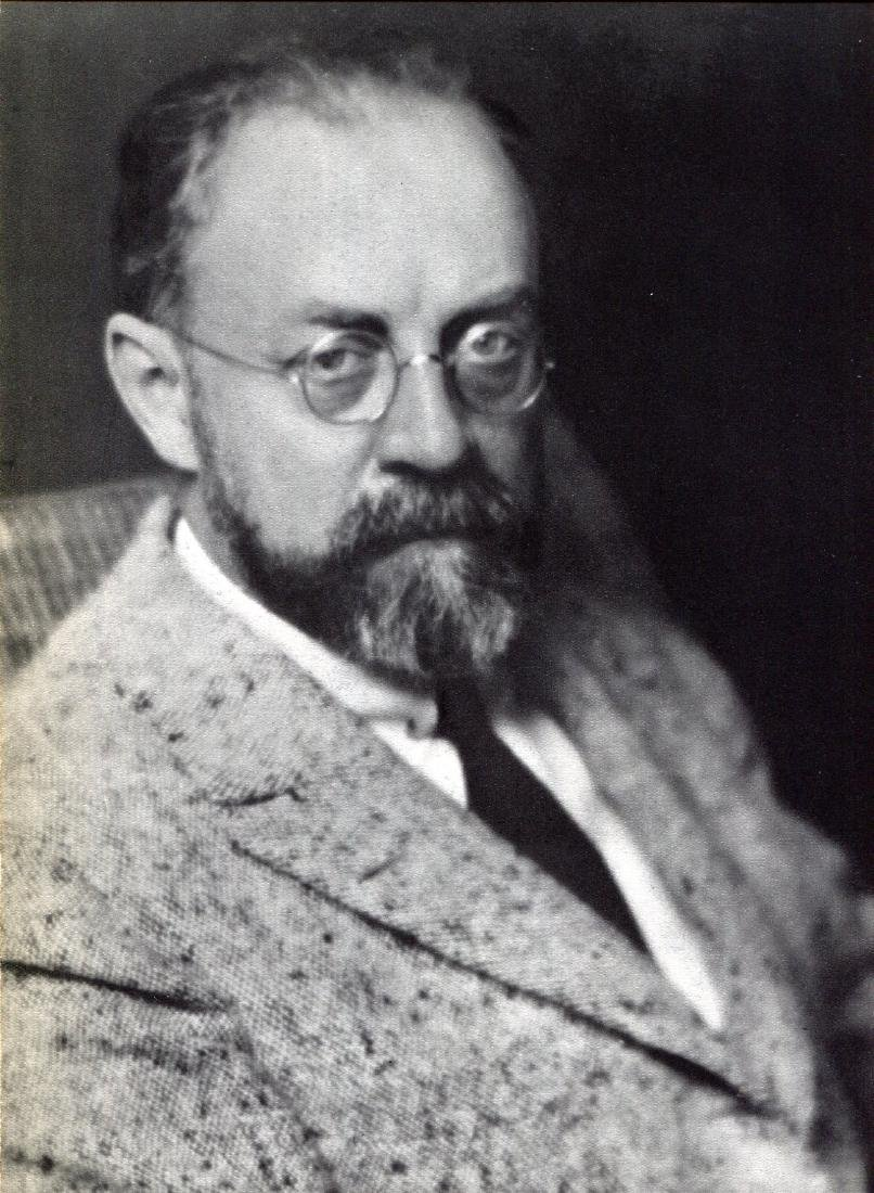 MAN RAY -  Portrait of Henri Matisse