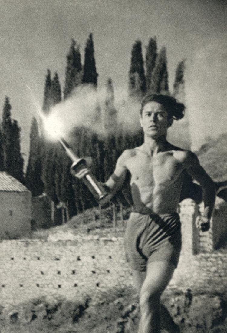 LENI RIEFENSTAHL - On the Road to Corinth 1936 Olympics