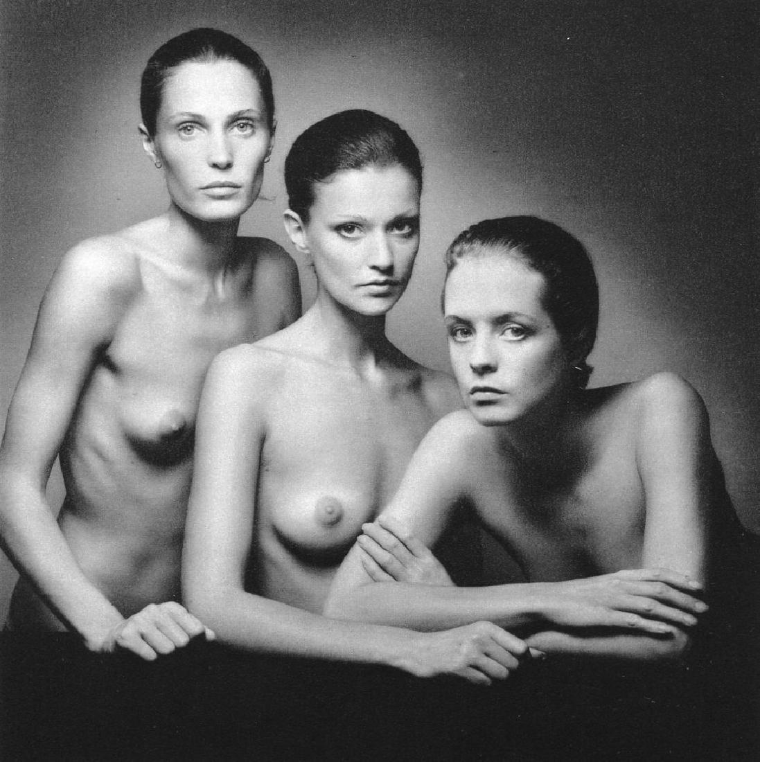 JEANLOUP SIEFF - Group Portrait for Perfume ad, Paris