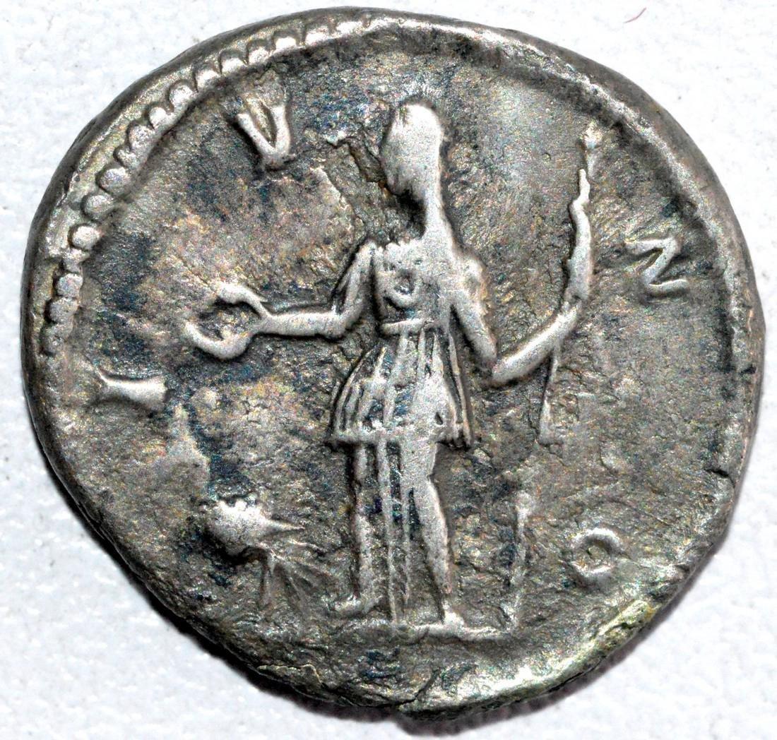 Roman Silver Denarius of Empress Crispna - rv. Juno