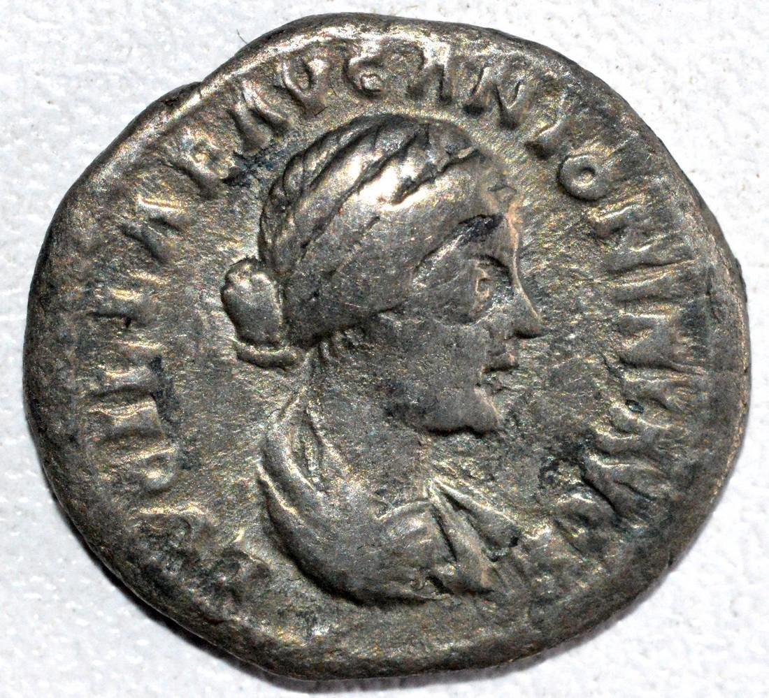 Roman Silver Denarius of Empress Lucilla - rv.