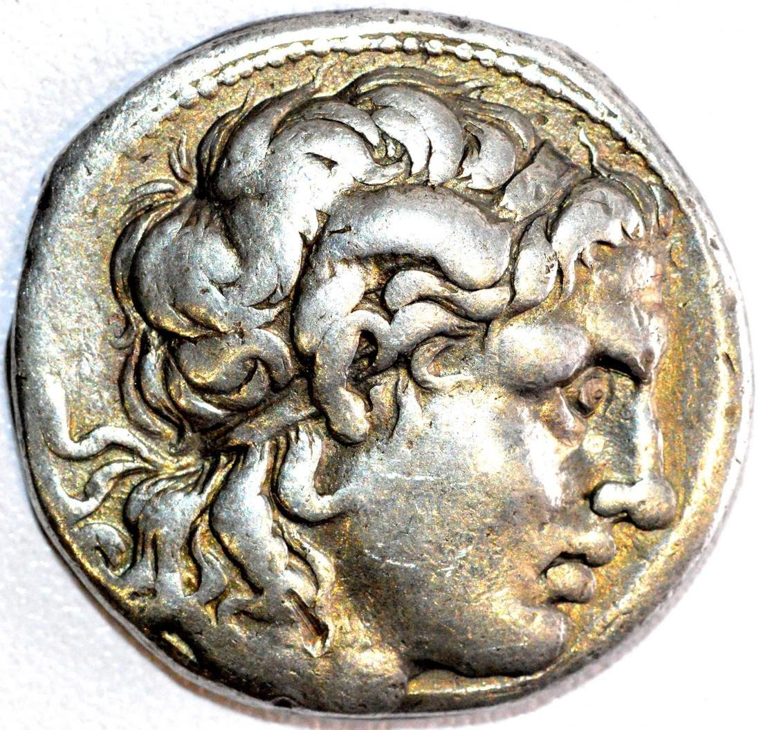 Rare King Lysimachos AR Tetradrachm