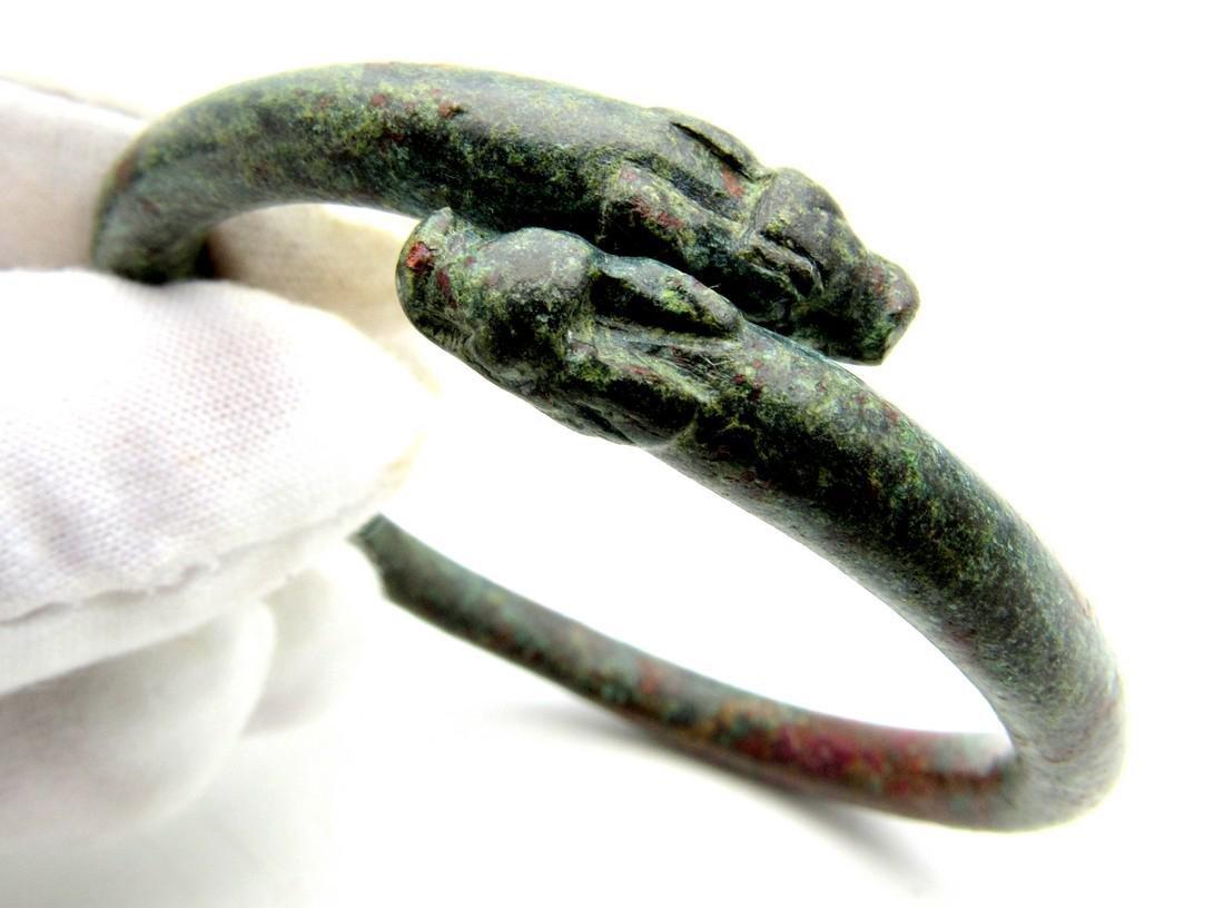 Rare Viking Dragon Fafnir Bracelet