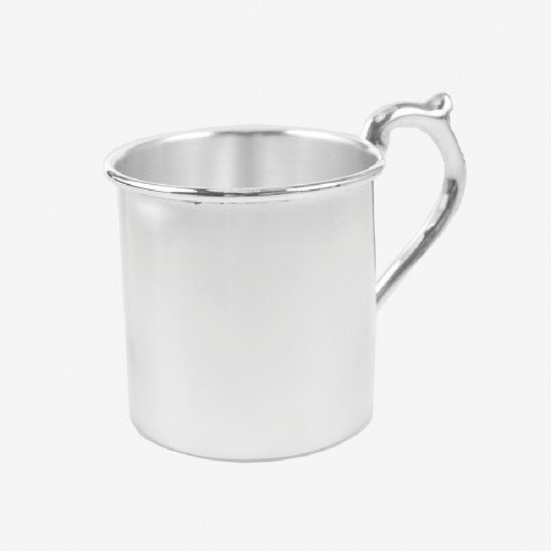 Scottish Sterling Silver Christening Mug