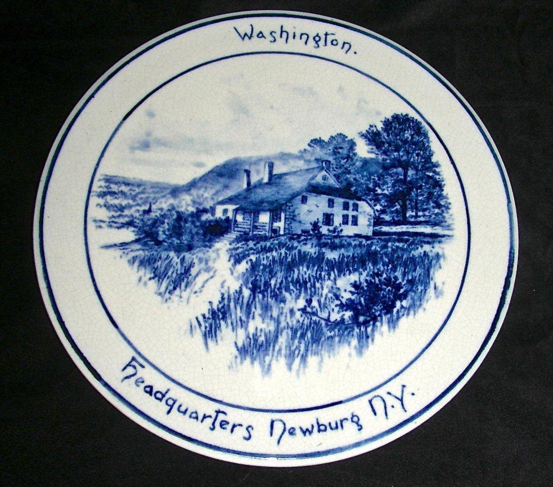 Volkmar Pottery Historical Plaque: Washington